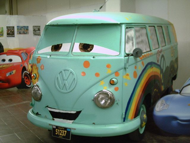 Fillmore!!!! VW Bus from Pixar Cars movie! | VWheeelzz | Pinterest | Buses, Summer and Movie cars