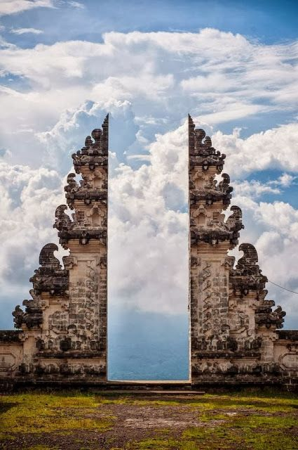 Pura Lempuyang Door, Bali, Indonesia. 2015 trip! @Sally McWilliam McWilliam McWilliam McWilliam McHugh