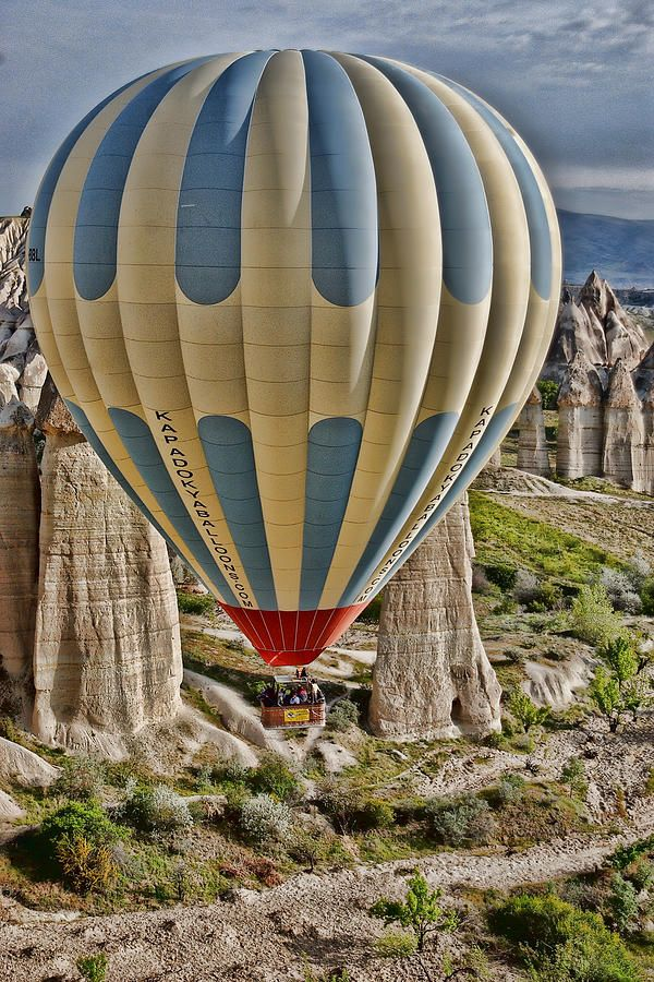 Up Up and Away, Cappadocia, Turkey by Beverly Hanson