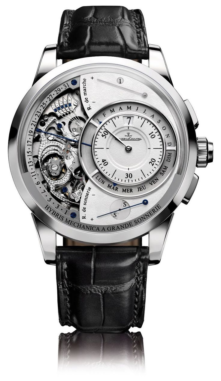 Jaeger-LeCoultre Hybris Mechanica 55 Grande Sonnerie watch