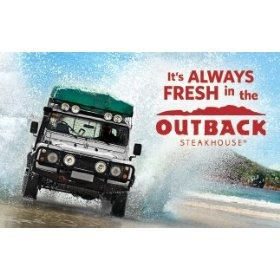 Outback Steakhouse Gift Card $50.00