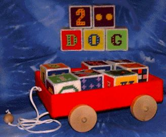 Plastic Canvas Letters And Numbers | Plastic Canvas Patterns by Clever Creations