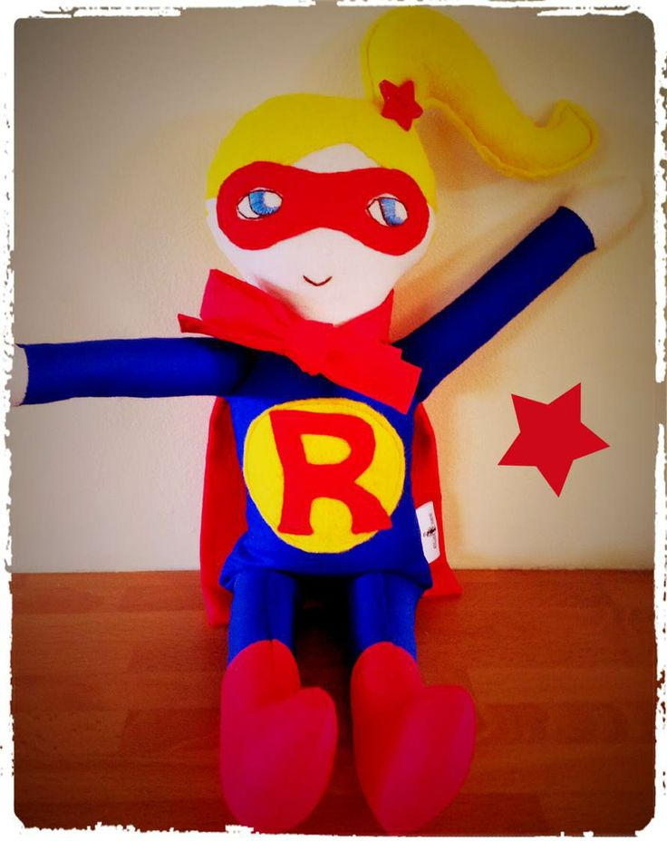 Personalised superhero girl!