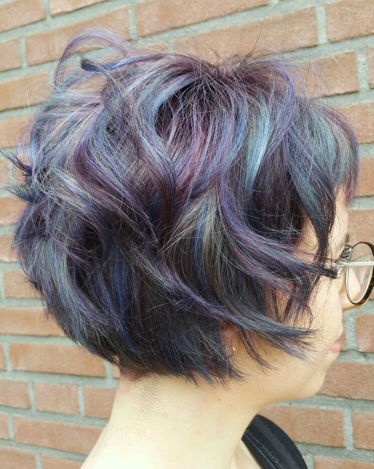 Blue /violet colorpalette with colorworkx from schwarzkopfpro made by @trulyjessy -salon du trezo