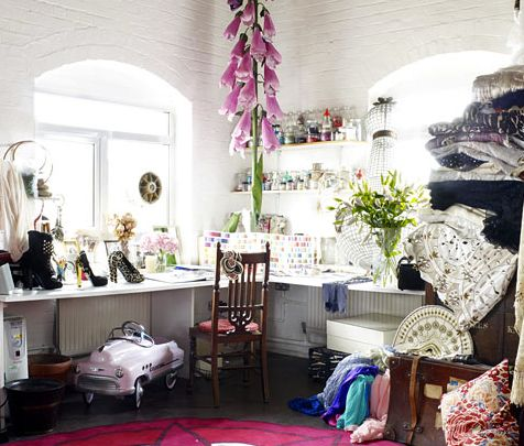 The Creative Space of Fashion Designer Alice Temperley: Sewing Room, Creative Workspaces, Offices, Studios Workspaces, Alice Temperley, Fashion Designers