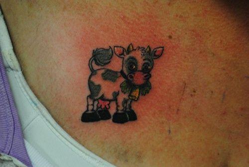 25 Cool Cow Tattoo Ideas