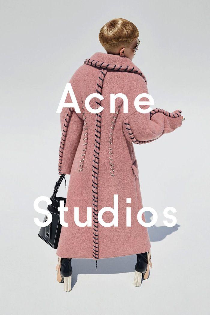 Acne 2015. Model: 11-yr-old Frasse Johansson