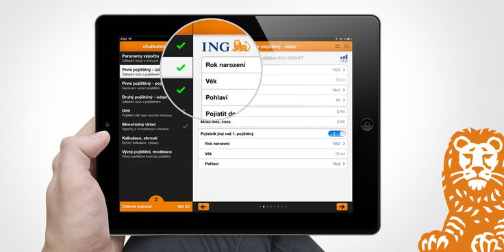 ING Apps server advisors of brokerage companies use as a modern and efficient tool for complex calculations, and effective presentations of the calculation results, of life insurance products through mobile devices to clients anywhere and anytime.