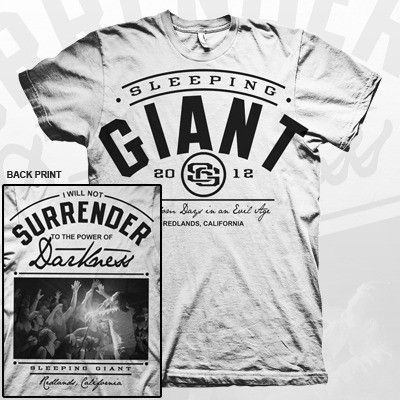 Title: Sleeping Giant - I Will Not Surrender Shirt  $12.99 USD