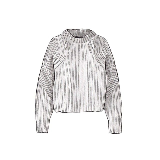 Good objects - Isabel Marant newt oversized knit sweater ...