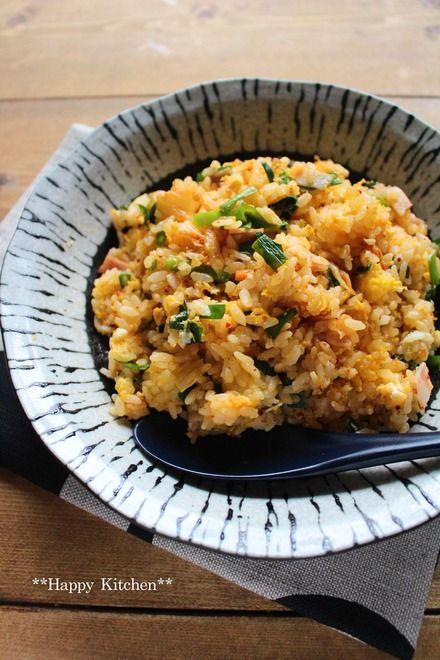 レンジで5分!大人のためのパラパラ卵キムチチャーハン | たっきーママ オフィシャルブログ「たっきーママ@Happy Kitchen」Powered by Ameba