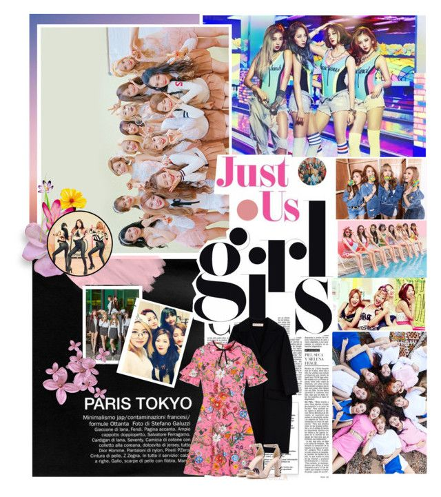 """""""Battle Of The Kpop Girl Groups"""" by novitious ❤ liked on Polyvore featuring 2nd Day, Marni and Gucci"""