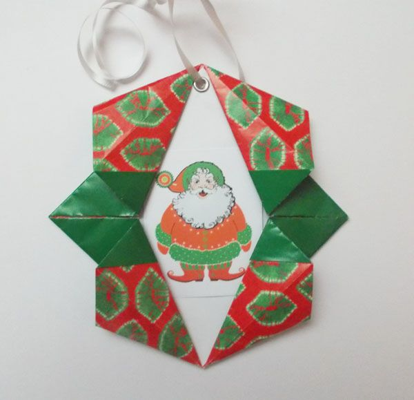 Origami Christmas Decorations: 223 Best Origami Christmas Images On Pinterest