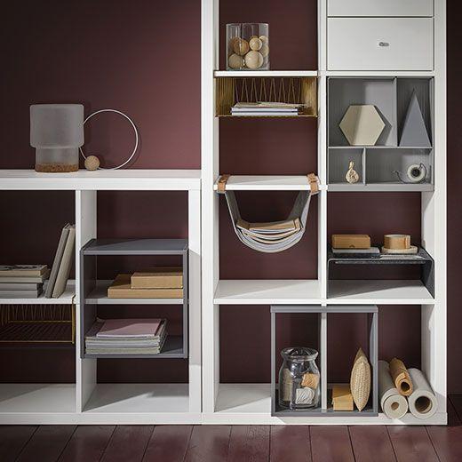 Oltre 25 fantastiche idee su scaffali su pinterest for Scaffali per ufficio ikea