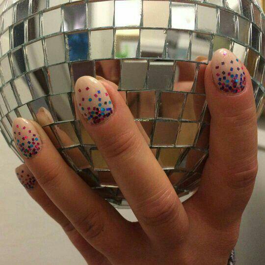 Disco nails!