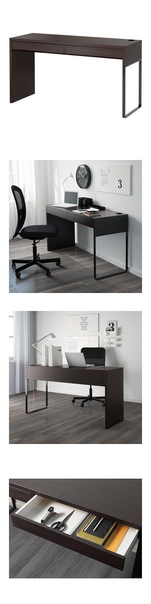 The 25 best micke desk ideas on pinterest ikea small desk desk space and desk areas - Micke computer workstation ...