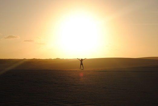 Beautiful sunset @ La Guajira #travel #colombia