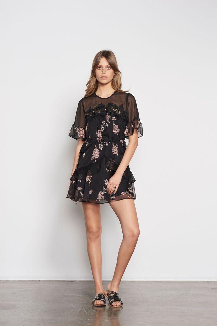 Stevie May - Wild Peony Mini Dress