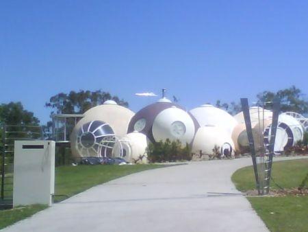 . A bubble house in Ipswich, Queensland Australia.