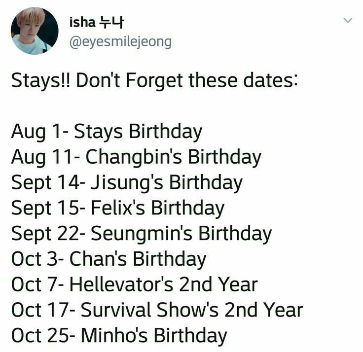 Important Dates October 17 It S My Birthday Kid Memes Funny Kpop Memes Kpop Memes