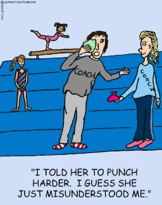 Custom Gymnastic Cartoons | Marc Jacobs - Gymnastics Cartoons