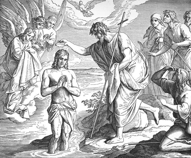 Bilder Der Bibel Taufe Christi Julius Schnorr Von