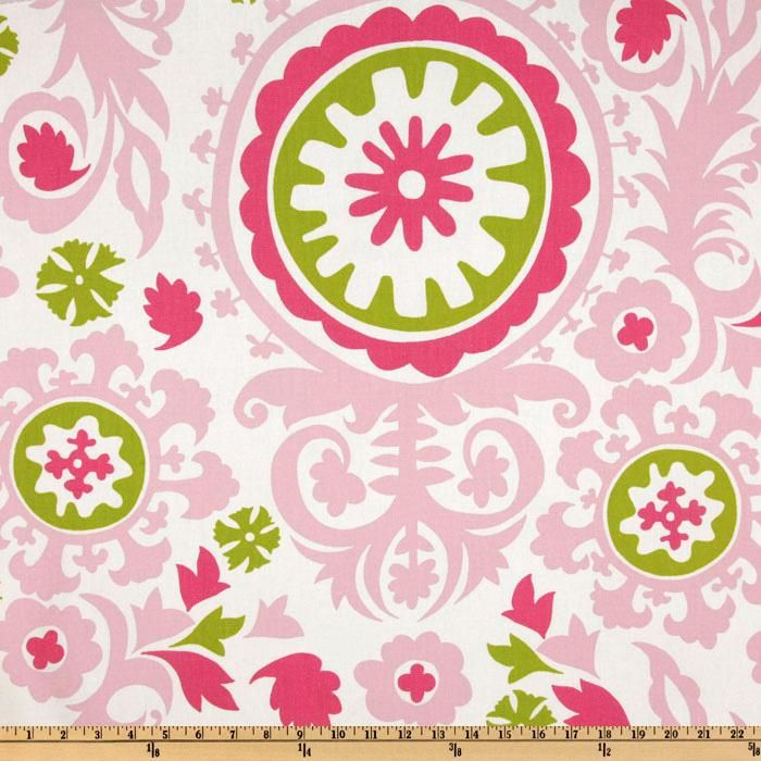 Premier Prints Suzani Maggie/Candy Pink  Item Number: UK-758  Our Price: $7.48 per Yard  Compare At: $12.49 per Yard