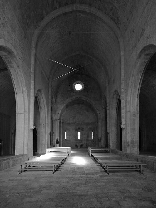 Abbaye du Thoronet_08/2014 ©Federica Stagni