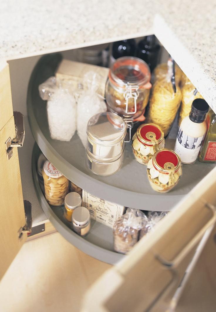 Corner Carousel #storage #solutions
