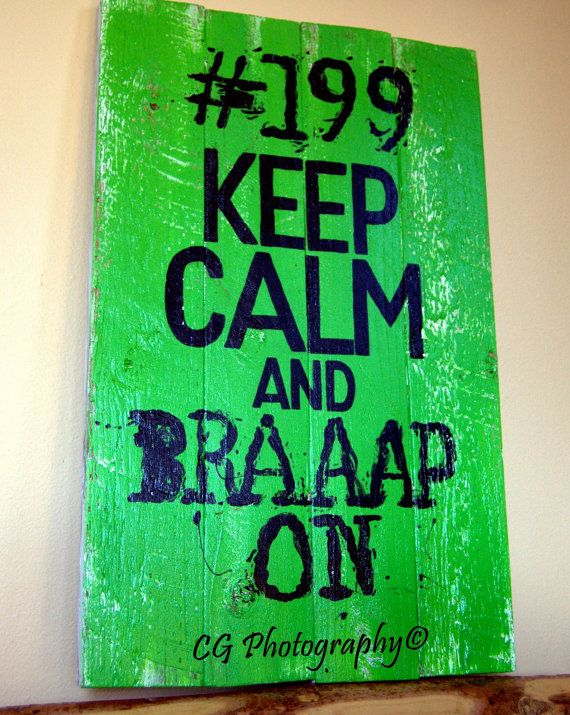 Keep calm and braaap on by PacificNWPaint on Etsy