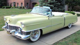 Cadillac 62 Convertible 1954. Neue, gebrauchte & seltene Teile für alte Caddies + Klasse … – Klassiche Auto