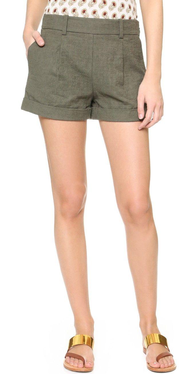 Diane von Furstenberg DVF Gillian Shorts | SHOPBOP