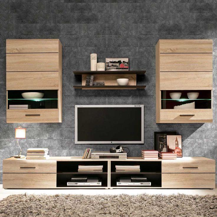 Die besten 25+ Tv wand beleuchtung Ideen auf Pinterest Tv - wohnzimmerschrank modern wohnzimmer