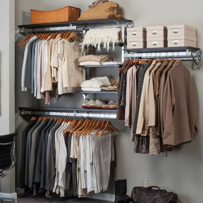 arrange a space best closet shelving system i