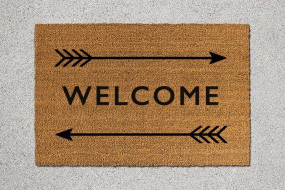 25 Best Ideas About Welcome Mats On Pinterest Diy Door