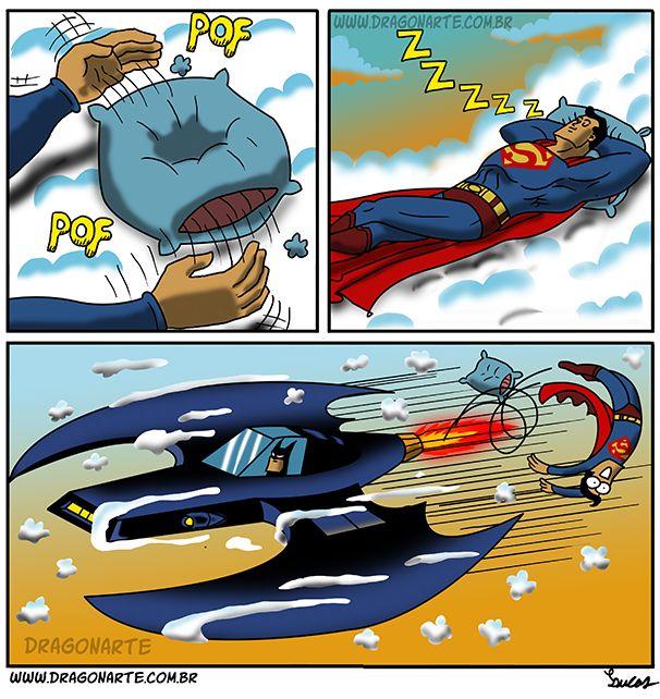 17 Cómics que muestran la rivalidad entre Batman y Superman