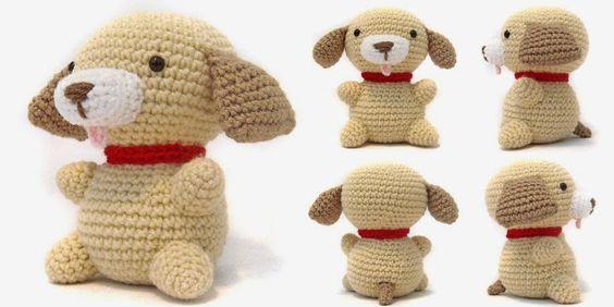 i crochète choses: Patron Gratuit Vendredi: Puppy Amigurumi