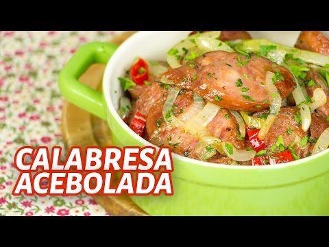 Calabresa Acebolada - Uma receita super fácil e deliciosa