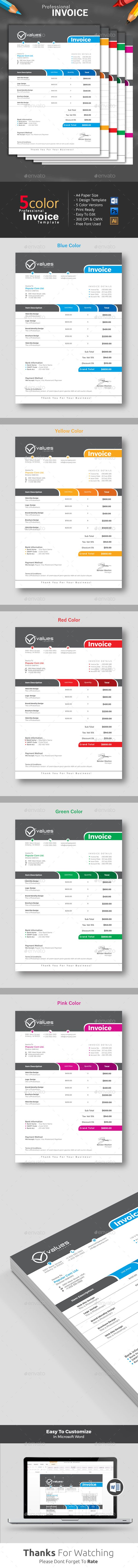 #Invoice - Proposals & Invoices Stationery Download here: https://graphicriver.net/item/invoice/17250750?ref=classicdesignp