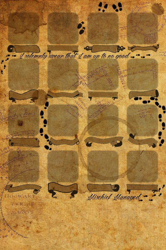 marauder s map iphone wallpaper - photo #6