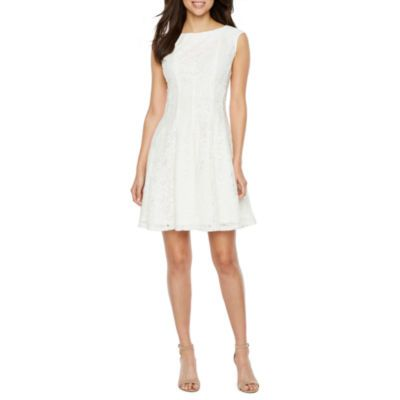 7e04e09caf3 Danny and Nicole  JCPenney s White Dresses For Women