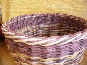 tvorba - Pletení z papíru - Uzavírka třípárová - dvoubarevná