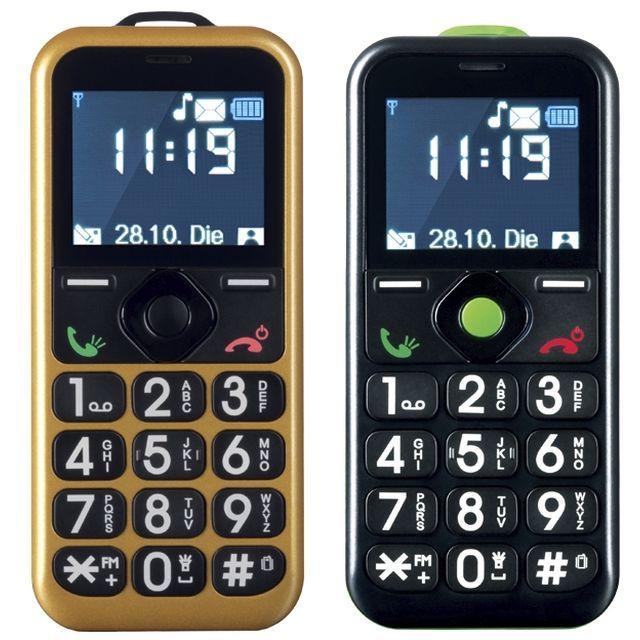 Téléphone portable M6 BOUTIQUE, achat Téléphone portable Deluxe or + noir pas cher prix promo M6 Boutique 97.18 €