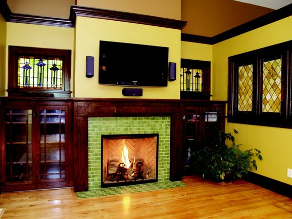 33 Best Images About Tile Fireplaces On Pinterest