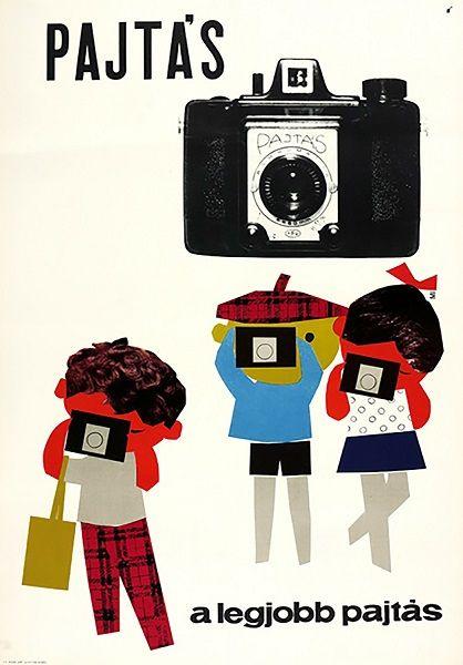Pajtás Camera, Your Best Pal / Pajtás fényképezőgép, a legjobb pajtás 1964 Artist: Müller Ilona