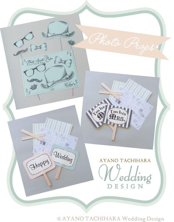 フォトプロップス by AYANO TACHIHARA Wedding Design