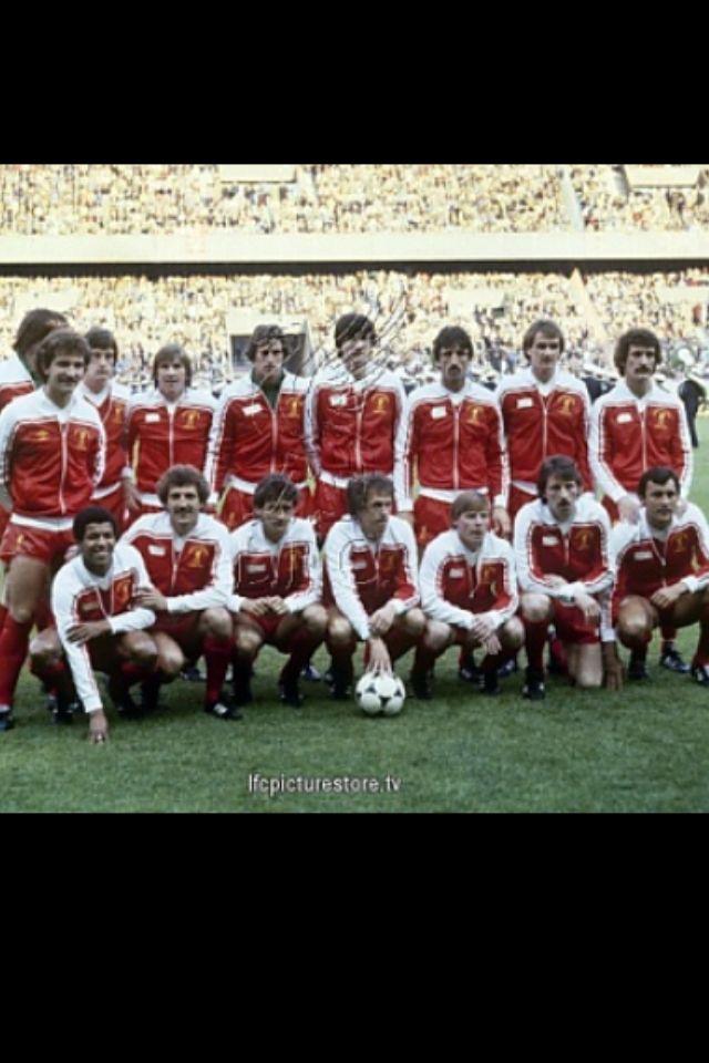 1981. Parque de los Principes, Paris. El Liverpool FC esta a punto de ganar su tercera Copa Europea.