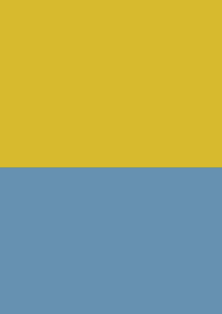 yellow ral 1012 blue ral 5024