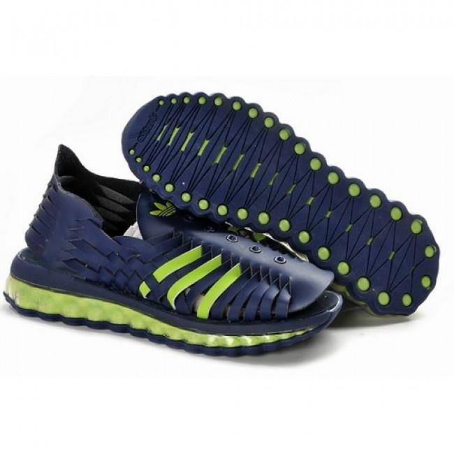 Jeremy Scott Adidas JS Women MEGA Softcell Blue Sandals For $ 98.40 Go To: http://www.jeremyscottvip.com