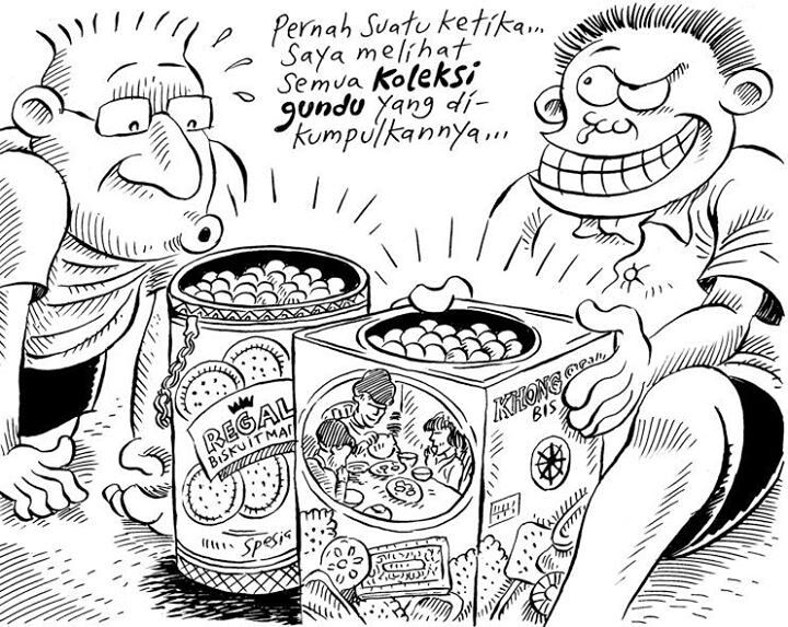 Koleksi Gundu Kartun, Karikatur, dan Gambar